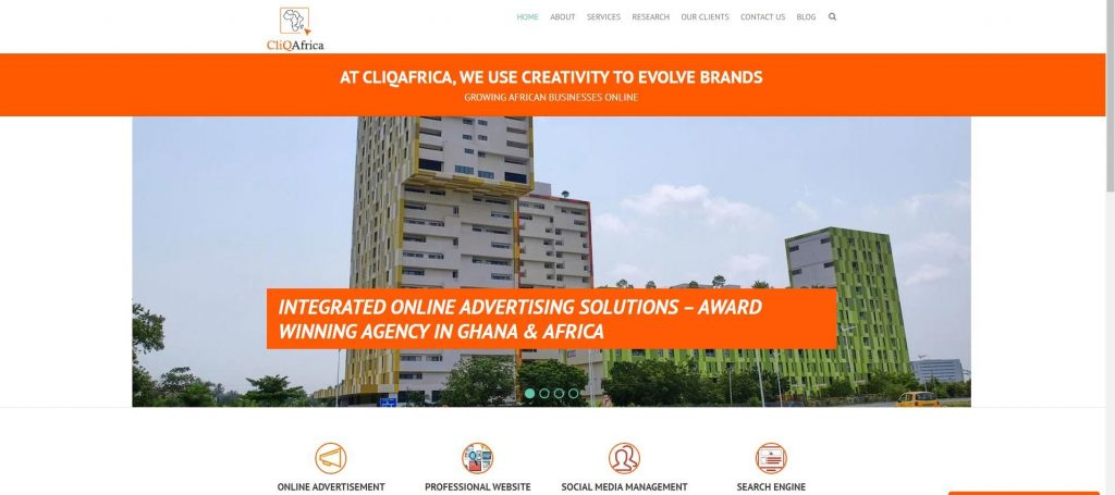 Top 20 Advertising Agencies in Ghana - Cliq Africa